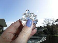 SWAROVSKI Silver Crystal Bird's Nest & Chicks ~ 013842 ~ Excellent Retired RARE