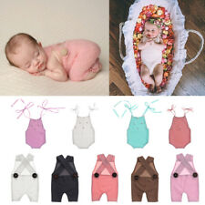 Unisex Newborn Baby Girl Boy Knit Photo Outfits Photography Props Rompers