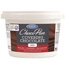 Satin Ice ChocoPan Red Covering Chocolate, 1 Lb