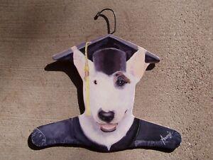 Stupell Vintage Dog Graduation Annie Clothes Hanger