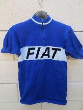 VINTAGE Maillot cycliste FIAT 70's maglia ciclismo shirt camiseta MOA laine 2