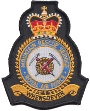 Royal Air Force Mountain Rescue Service RAFMRS MOD Crest Embroidered Patch
