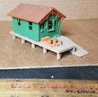 MODEL TRAINS HO SCALE STRUCTURE BUILDING MODEL WORK HOUSE SHACK asw3