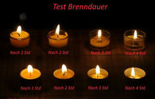100 Teelichter Bienenwachskerzen Beeswax candle tea lights Kerzen Bienenwachs