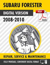 2008-2011 Subaru Forester Factory Repair Service Manual