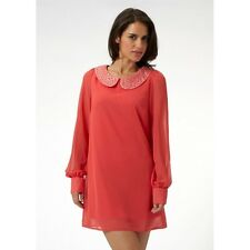 BNWT Lipsy Embellished Trim Shift Dress Size 10