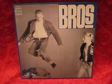 """12"""" Maxi Single - BROS  - Drop the Boy (CBS 6513606) 1988"""