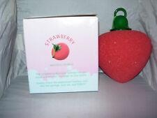 Strawberry Vibrating Sponge Bath Shower Massage,beauty,body,birthday Gift  New