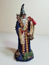 Wizard Statue Danbury Mint Guardian of the Crystal, Quest for the Crystal