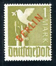BERLIN 1949 33 ** POSTFRISCH ROTAUFDRUCK  600€(Z3337
