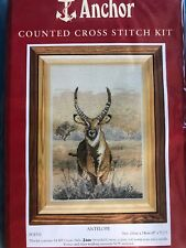 Counted Cross Stitch Kit By Anchor Antelope