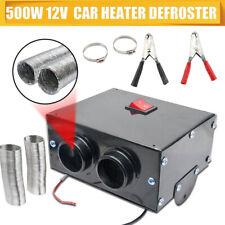Universal Heater 500W 12V Fan Warmer Defroster Demister Windscreen For Car QP