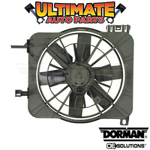Radiator Cooling Fan (2.2L 2.3L or 2.4L) with A/C for 95-05 Chevy Cavalier