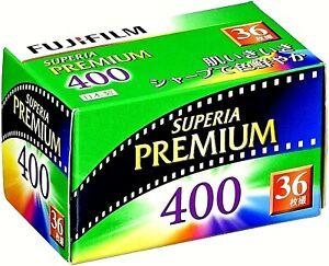 1 x Roll FUJI SUPERIA PREMIUM 400 FRESH COLOR NEG--35mm/36 exps--expiry: 10/2022