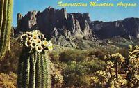 Postcard Superstition Mountain Arizona