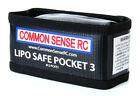 NEW Common Sense Rc LiPo Safe Pocket 3 Charging & Storage Bag Ideal 2S/3S
