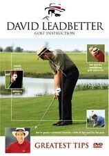 David Leadbetter Greatest Tips Instructional DVD- Free Shipping!