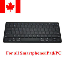 Ultraslim Bluetooth Wireless Keyboard For Apple iPad iPhone Android Mac Windows