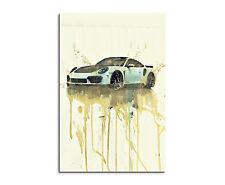 90x60cm PAUL SINUS Splash Art Gemälde Sportwagen Auto Geschenkartikel