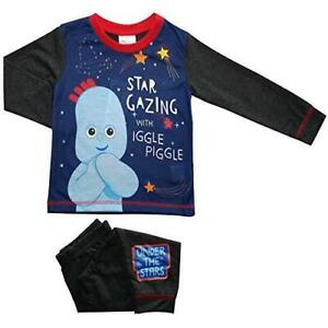 New ITNG Boys Pyjamas Iggle Piggle - 18Mnths to 5Yrs - Free 1st Class Postage