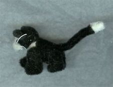 Dollhouse Silver Pearl Suede Micro Bear World of Miniature Bears 1:12 Miniatures