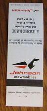 SNOWMOBILE: JOHNSON SNOWMOBILE (A. LEVESQUE) (BELOEIL, QUEBEC) -K21
