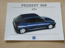 52053) Peugeot 306 XSi Prospekt 08/1994