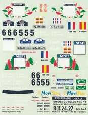 Colorado Decals 1/24 TOYOTA COROLLA WRC '98 Rally Great Britain & Finland
