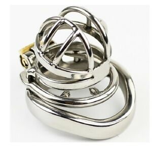 Stainless Steel Super Small Male Chastity Device Metal Chastity Belt Cage A273-1