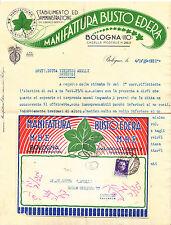 Z988-BOLOGNA-MANIFATTURA BUSTO EDERA 1935