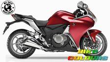Kawasaki retouche pinceau peinture 5006M candy rouge 2 bouteille système