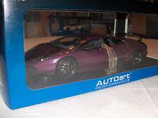 "Auto Art Lamborghini Murcielago LP 670-4 SV ""Viola Ophilia/Purple 74628"