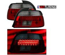 2 FEUX FEU ARRIERE LED ROUGE ET NOIR BMW SERIE 5 E39 PHASE 2 DE 09/2000 A 2003