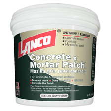 Lanco 4 lb Concrete Mortar Patch Repair Indoor Outdoor Hole Crack Joint Sealant