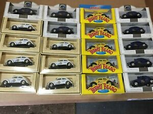 LLEDO PROMOTIONAL DIECAST  MODELS JOB LOT of 20 VW  BEETLE SALOONS