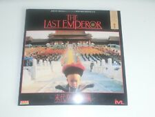 The Last Emperor Chinese Subtitles 1987 pressed in Japan 2 Laser Disc