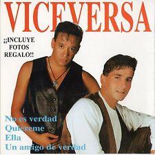VICEVERSA / BERLIN  SPANISH CD + 2 PHOTOS / BEATO - CASTELLS - LANZAGORTA - UGAS