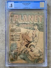 Planet Comics #62 CGC 1949 Fiction House COMPLETE! Planet Stories Cover Homage!