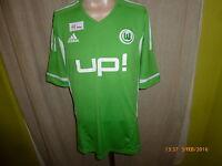 "VfL Wolfsburg Adidas Formotion Spieler Rohling Trikot 2011/12 ""UP!"" Gr.XL Neu"