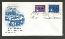 UNITED NATIONS - 1977 Security Council  - F.D. COVER.