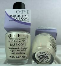 Opi Nail Polish Acrylic Base Coat Nt T20 Off White French Manicure Lacquer