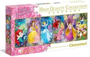 Disney Clementoni Jigsaw Puzzle 1000 piece Disney Princesses Panorama