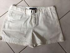 Short RALPH LAUREN Taille 38/40 coton blanc
