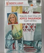 "Watercolor Quick & Easy Techniques ""CRYSTAL and GLASS""  Faulknor Art Lessons DVD"