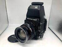 ✈︎FedEx【Exc+5】Mamiya RB67 Pro + Sekor 65mm f4.5 Lens + 120 Film back from Japan