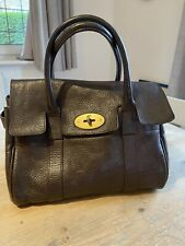 Brown Mulberry Ledbury (Small Bayswater) Leather Bag