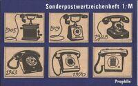 DDR SMHD12 (kompl.Ausg.) postfrisch 1983 Fernsprechapperat EUR 11