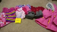 Girls Clothes 2T - Fall/Winter - Mixed Lot of 10 Pieces #157