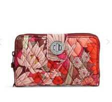 Vera Bradley Turn Lock Wallet in Bohemian Blooms. NWT. Retail $49, Fast Shipping