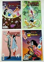 Adventure Time #4 #19 Fionna #6 & Marceline #1 Lot of 4 Kaboom! Comic Book